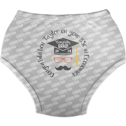 Hipster Graduate Diaper Cover (Personalized)