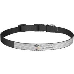 Hipster Graduate Dog Collar - Large (Personalized)