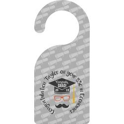 Hipster Graduate Door Hanger (Personalized)