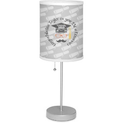 "Hipster Graduate 7"" Drum Lamp with Shade (Personalized)"