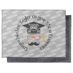 Hipster Graduate Microfiber Screen Cleaner (Personalized)