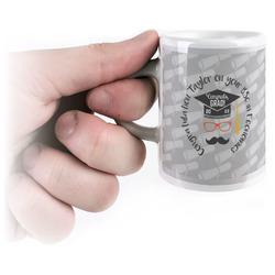 Hipster Graduate Espresso Mug - 3 oz (Personalized)