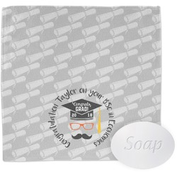 Hipster Graduate Wash Cloth (Personalized)