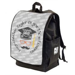 Hipster Graduate Backpack w/ Front Flap  (Personalized)