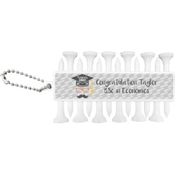 Hipster Graduate Golf Tees & Ball Markers Set (Personalized)