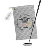 Hipster Graduate Golf Towel Gift Set (Personalized)