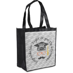 Hipster Graduate Grocery Bag (Personalized)