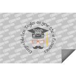 Hipster Graduate Indoor / Outdoor Rug (Personalized)