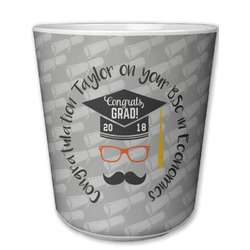 Hipster Graduate Plastic Tumbler 6oz (Personalized)