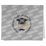 Hipster Graduate Kitchen Towel - Full Print (Personalized)