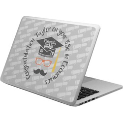 Hipster Graduate Laptop Skin - Custom Sized (Personalized)