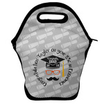 Hipster Graduate Lunch Bag w/ Name or Text