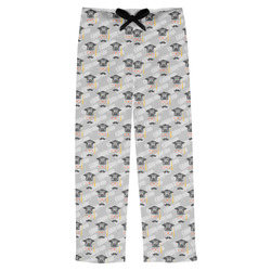 Hipster Graduate Mens Pajama Pants (Personalized)