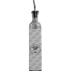 Hipster Graduate Oil Dispenser Bottle (Personalized)