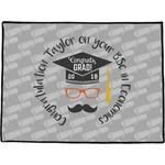 Hipster Graduate Door Mat (Personalized)