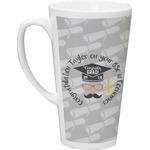 Hipster Graduate Latte Mug (Personalized)