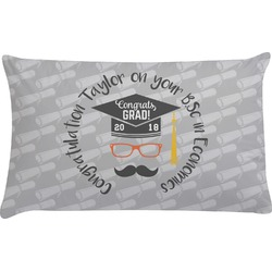 Hipster Graduate Pillow Case (Personalized)