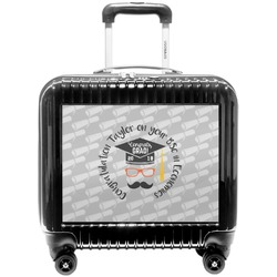 Hipster Graduate Pilot / Flight Suitcase (Personalized)
