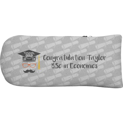 Hipster Graduate Putter Cover (Personalized)