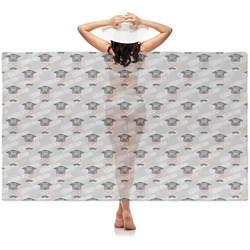 Hipster Graduate Sheer Sarong (Personalized)
