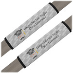 Hipster Graduate Seat Belt Covers (Set of 2) (Personalized)