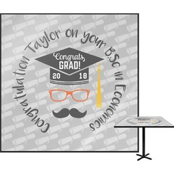 Hipster Graduate Square Table Top (Personalized)