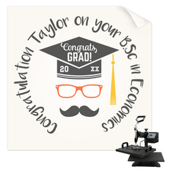 Hipster Graduate Sublimation Transfer (Personalized)