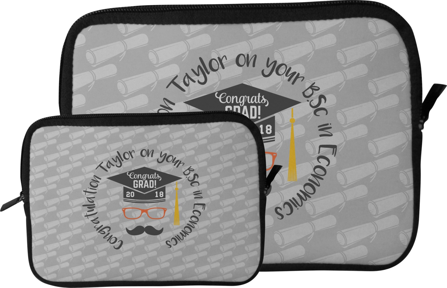 Hipster graduate tablet sleeve case small for Table th size
