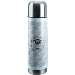 Hipster Graduate Stainless Steel Thermos (Personalized)