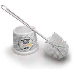 Hipster Graduate Toilet Brush (Personalized)