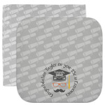Hipster Graduate Facecloth / Wash Cloth (Personalized)