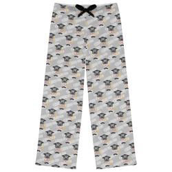 Hipster Graduate Womens Pajama Pants (Personalized)