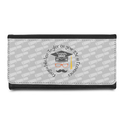 Hipster Graduate Leatherette Ladies Wallet (Personalized)