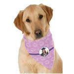 Graduation Dog Bandana Scarf w/ Photo