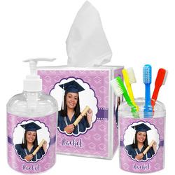 Graduation Acrylic Bathroom Accessories Set w/ Photo