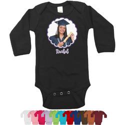 Graduation Bodysuit - Black (Personalized)