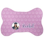 Graduation Bone Shaped Dog Food Mat (Personalized)