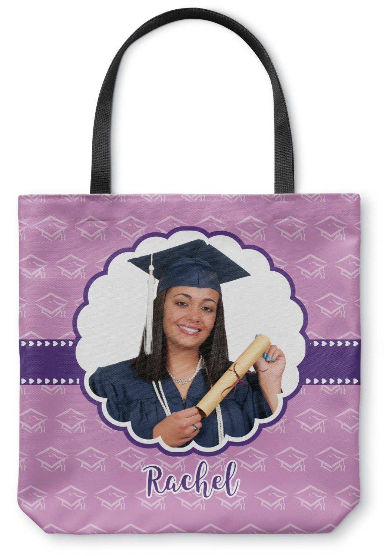 Graduation Canvas Tote Bag Large 18 Quot X18 Quot Personalized