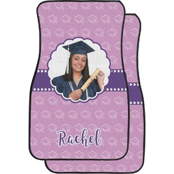 Graduation Car Floor Mats (Front Seat) (Personalized)