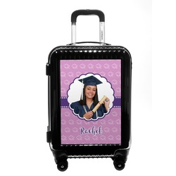 Graduation Carry On Hard Shell Suitcase (Personalized)