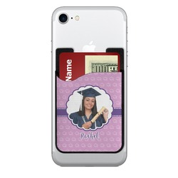 Graduation Cell Phone Credit Card Holder (Personalized)