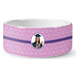 Graduation Ceramic Pet Bowl (Personalized)