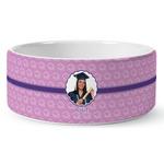 Graduation Ceramic Dog Bowl (Personalized)
