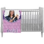Graduation Crib Comforter / Quilt (Personalized)