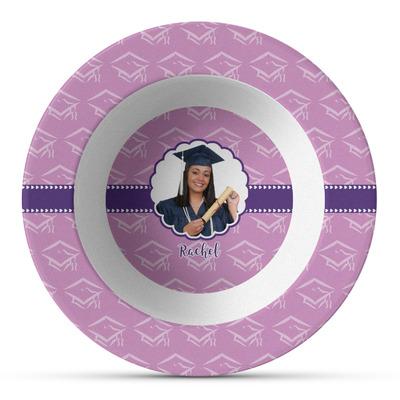 Graduation Plastic Bowl - Microwave Safe - Composite Polymer (Personalized)