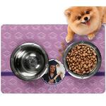 Graduation Dog Food Mat - Small (Personalized)