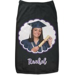 Graduation Black Pet Shirt (Personalized)