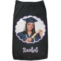 Graduation Black Pet Shirt - S (Personalized)