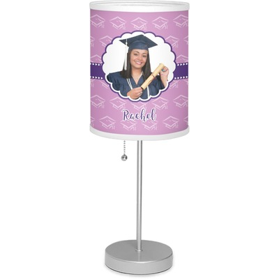 """Graduation 7"""" Drum Lamp with Shade (Personalized)"""