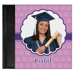 Graduation Genuine Leather Baby Memory Book (Personalized)